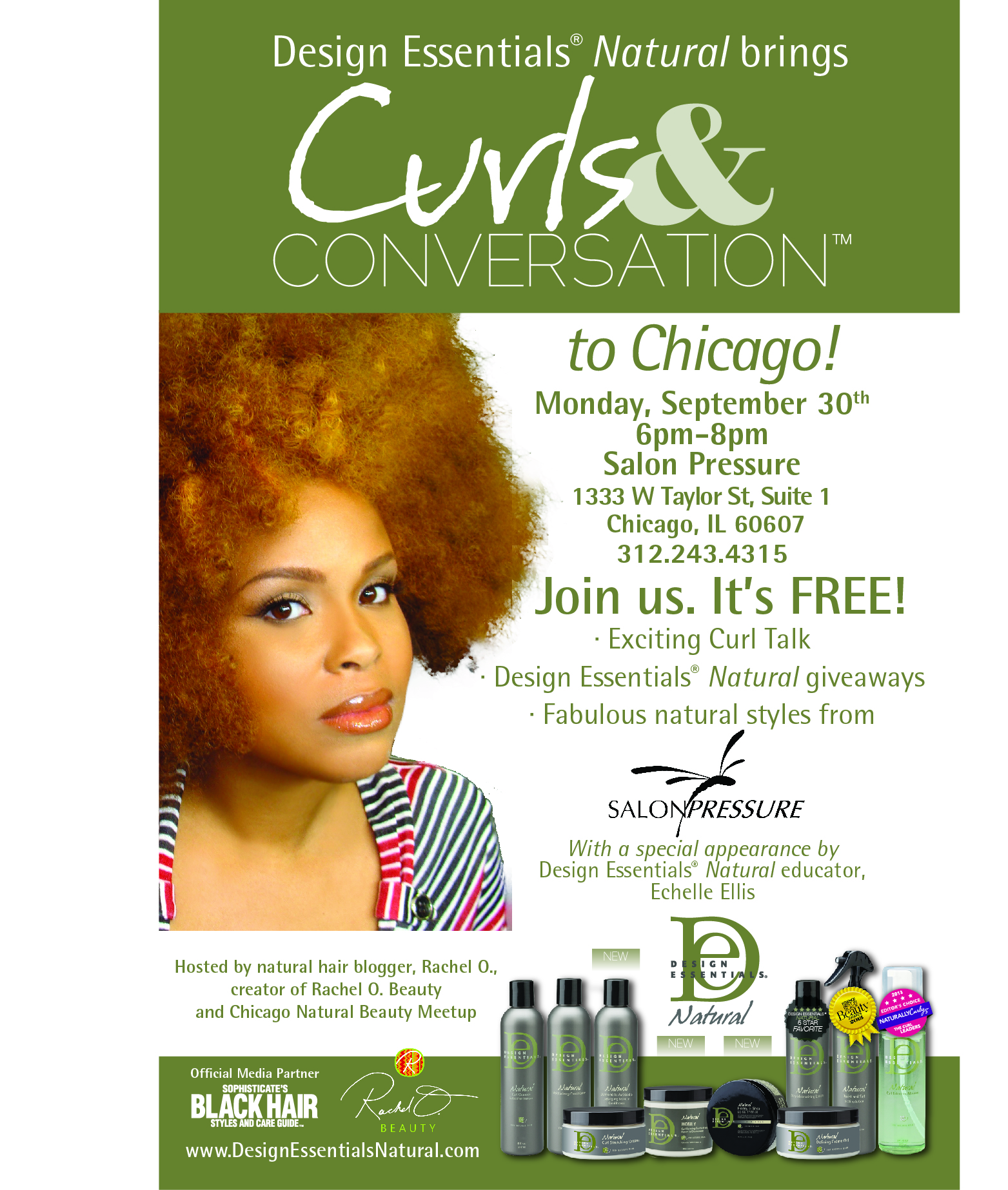 you re invited to curls conversation rachel o beauty