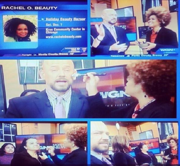 DIY Facial on WGN Morning News