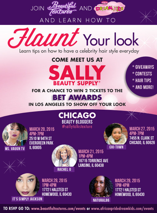 Flaunt Your Look at Sally's Beauty Supply