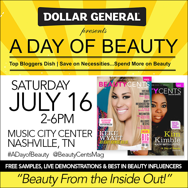 A Day of Beauty with Dollar General